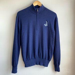🏌️♂️Footjoy wool 1/2 zip Pinehurst 1895 sweater